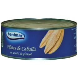 Filete de Caballa Benimar en Aceite Vegetal Lata 1 Kg