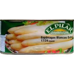 Esparrago El Pilar 17/24 Blanco Extra